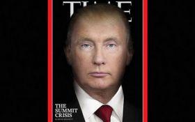 Путин и Трамп в одном лице: Time посвятил красноречивую обложку саммиту в Хельсинки