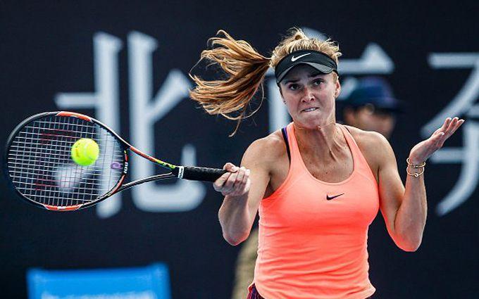 Українська тенісистка перемогла першу ракетку світу: опубліковано відео