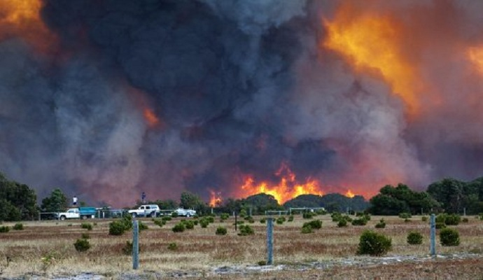 Пожежні Австралії продовжують боротися з лісовими пожежами