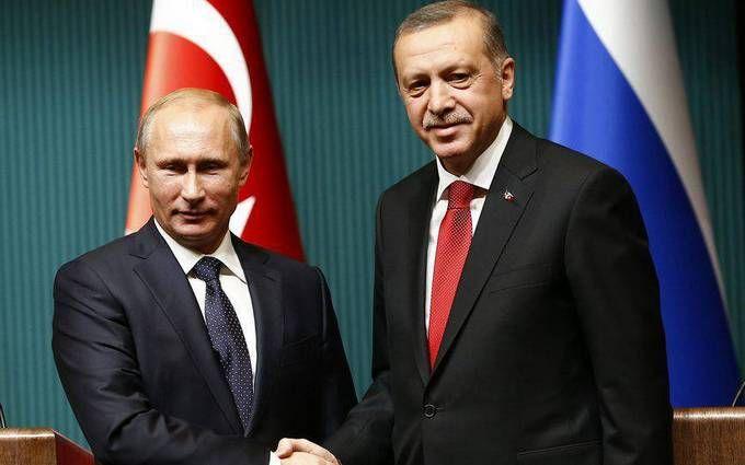 Ердоган на зустрічі з Путіним підтвердив побоювання України