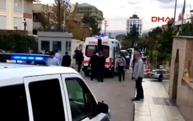 У Туреччині напали на посольство Ізраїлю: з'явилися фото і відео (1)