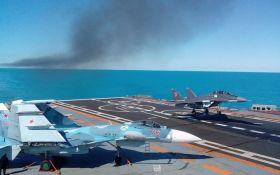 Падіння російського винищувача в море: озвучені причини