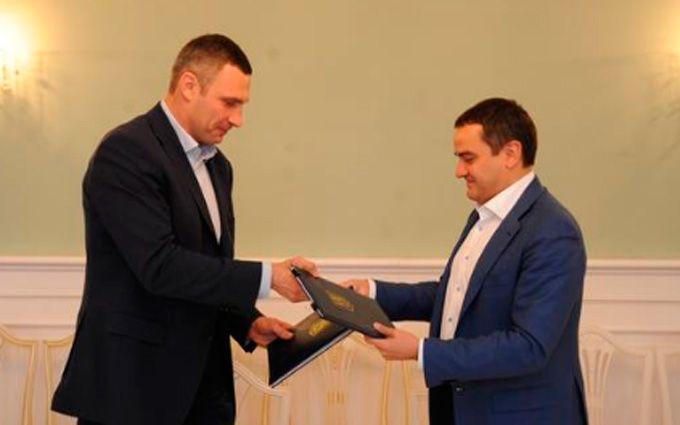 """Кличко і Павелко """"узаконили"""" київський фінал Ліги чемпіонів"""
