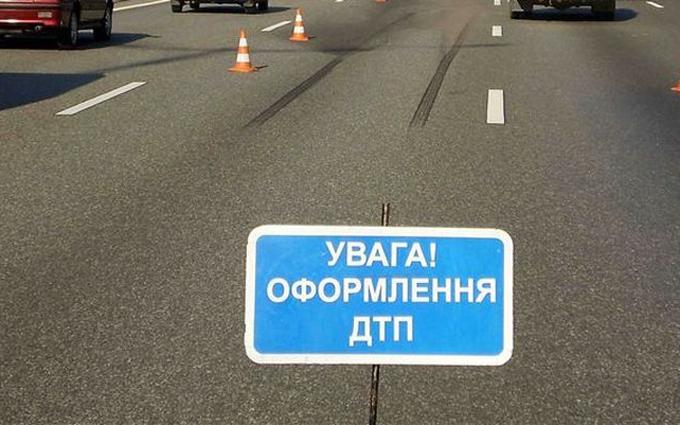 На Полтавщині на пішохідному переході задавили дитину: фото з місця подій