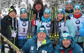Украинские биатлонисты отказались ехать на Кубок мира в Россию