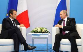 Макрон в розмові з Путіним зробив гучну заяву по Донбасу