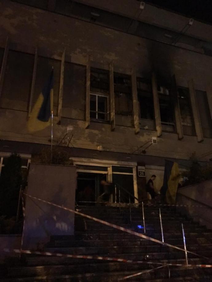 """Пожежа на """"Інтері"""": з'явилася гучна заява журналіста і нові фото (1)"""