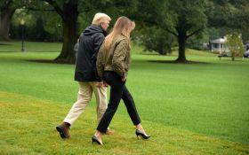 Меланія Трамп потрапила в гучний скандал через туфлі в зоні лиха: з'явилося відео