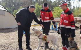 Аваков з гумором привітав українських рятувальників і їх собак: опубліковані фото