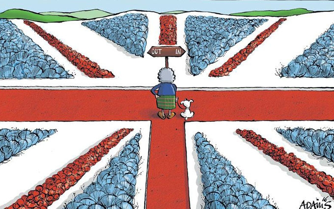 У Великій Британії почався референдум про ЄС: опублікована остання соціологія