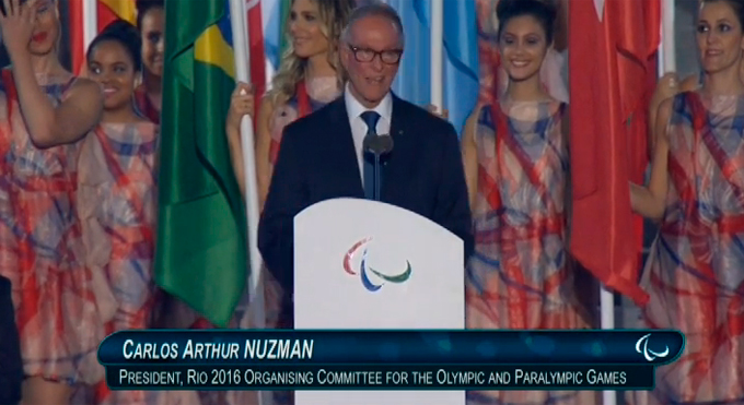 Церемония открытия Паралимпиады-2016: фото и видео из Рио (35)