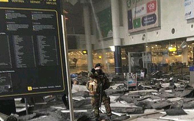 Теракт в Брюсселе: обнародовано новое жуткое видео