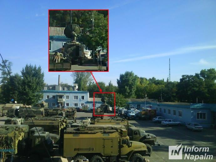 На Донбасі засікли секретну військову техніку Росії: з'явилися фото (1)