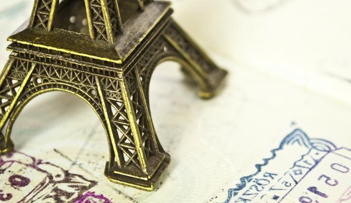 Срок оформления виз во Францию сокращен для пяти стран