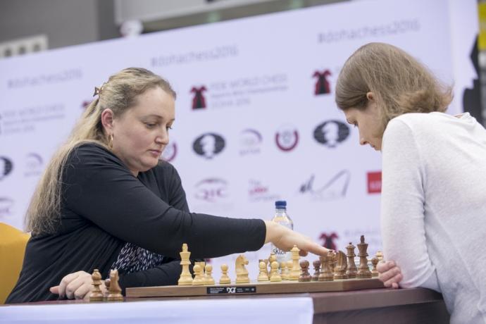 Анна Музычук: Для меня было важно одолеть вданном чемпионате