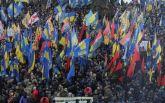 Марш в центре Киева: появилось новое впечатляющее видео