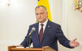 Відсторонення президента Молдови з посади: з'явилася перша реакція Додона