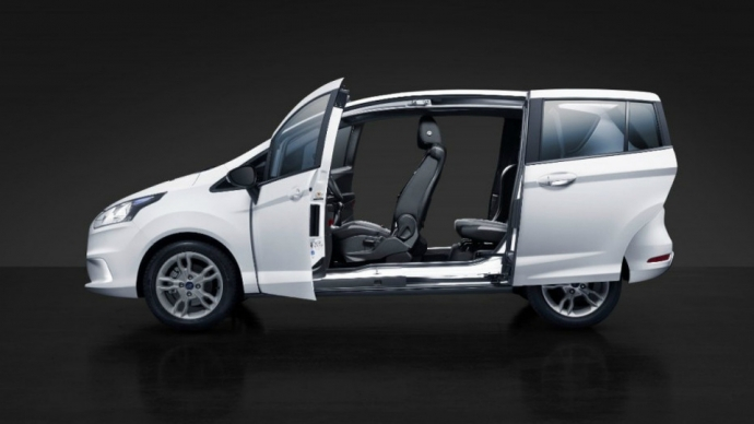 Ford B-Max получил 140-сильный трехцилиндровый двигатель (1)
