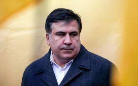 МіхоМайдан: Саакашвілі під стінами Ради вимагав відставки Порошенка, з'явилося відео