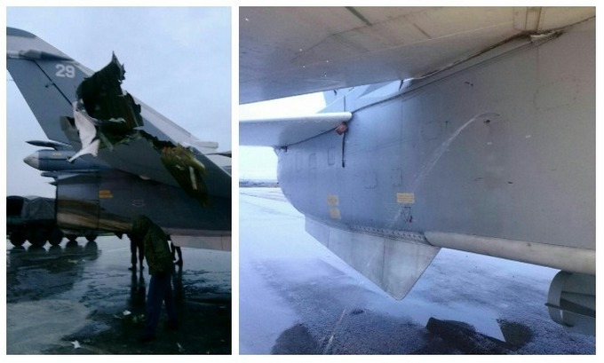 Обстрел авиабазы РФ в Сирии: опубликованы фото с места (1)