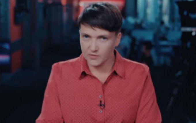 Савченко матом прорекламировала свою передачу о политике: появилось видео