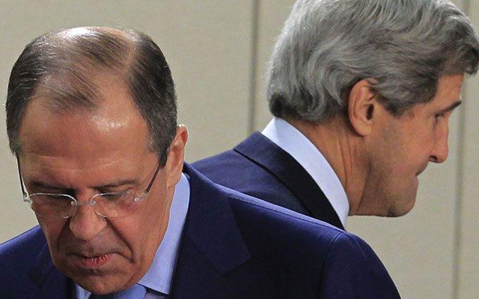 Стало відомо, про що говорили Керрі і Лавров: про Донбас не забули