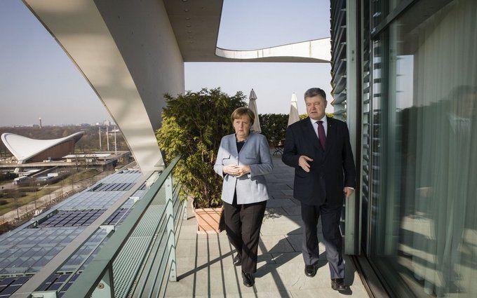 Украина одобрила объявление Меркель по«Северному потоку-2»