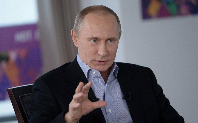 Известный карикатурист изобразил головокружение Путина от успехов