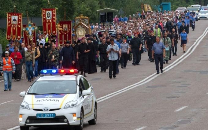 Через хресну ходу та День хрещення Русі Київ перекривають: з'явилася схема