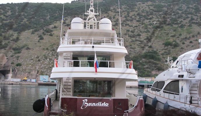 В сети появилось видео шикарной яхты Януковича