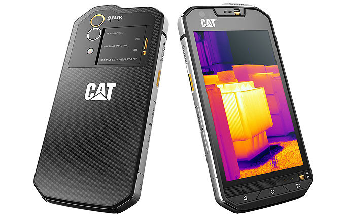 CAT выпустила первый смартфон, оснащенный термальной камерой: опубликованы фото