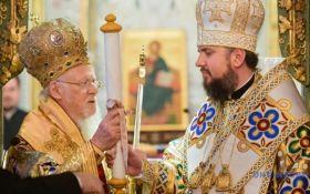 Вселенский патриархат никогда не признавал права РПЦ над Киевом: Варфоломей поздравил украинцев с Томосом