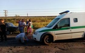 В Запорожской области расстреляли машину инкассаторов: появились фото и подробности