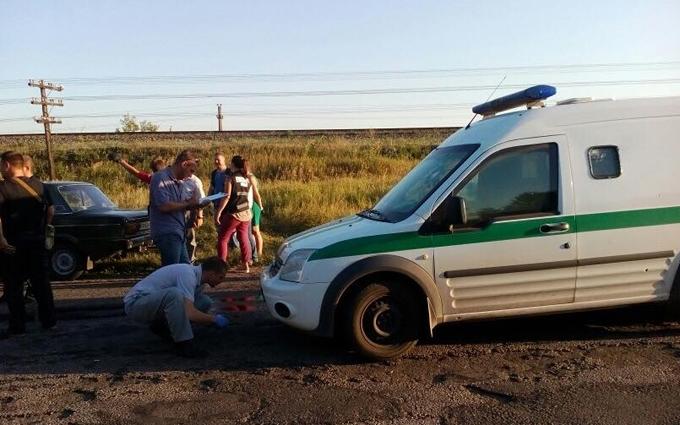 У Запорізькій області розстріляли машину інкасаторів: з'явилися фото і подробиці