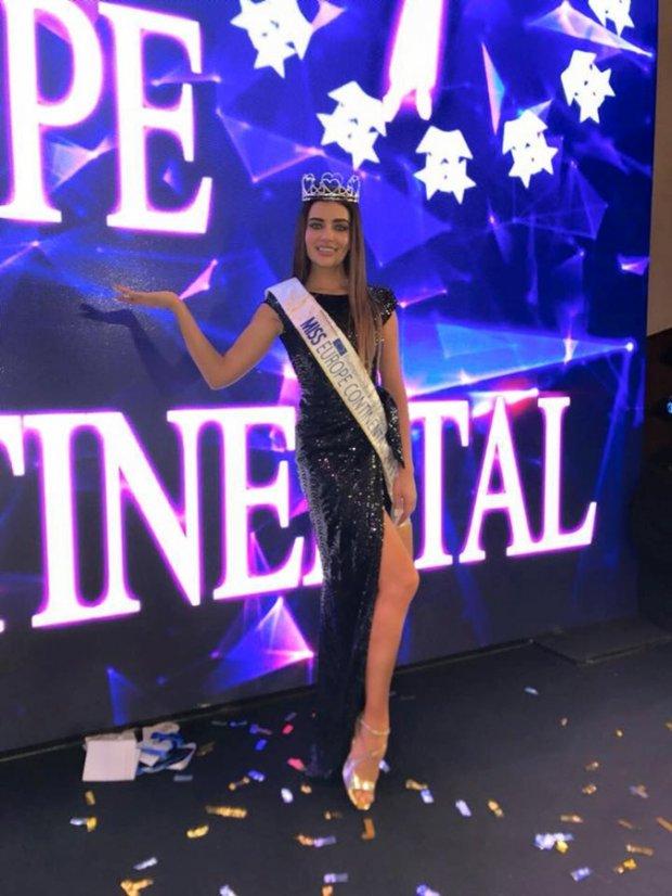 "В конкурсе ""Miss Europe Continental-2017"" победила украинка: появились фото (2)"