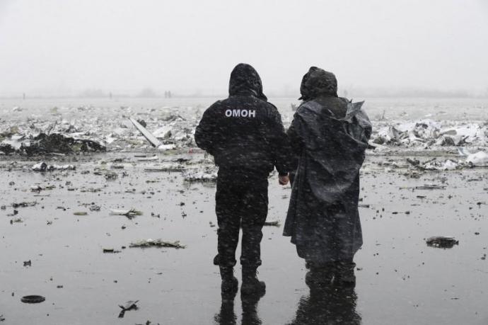 Крушение самолета в России: опубликованы новые фото с места катастрофы (1)