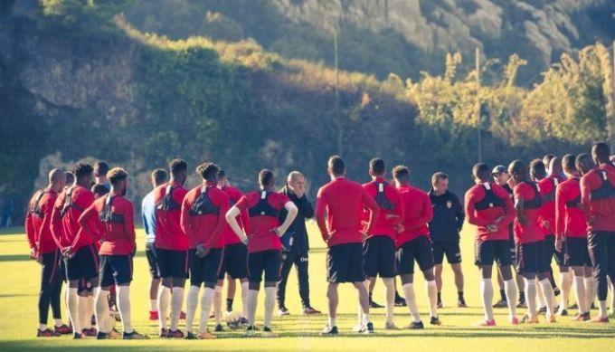 Фалькао, Йоветич и Геззаль – вне состава Монако на Лион