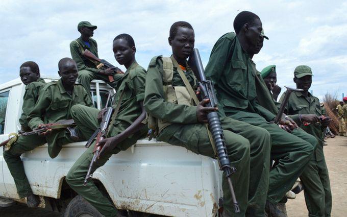 Україну звинуватили в поставках зброї до Південного Судану