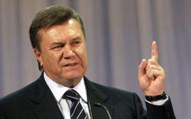 Янукович в Росії висловився про блокаду Донбасу