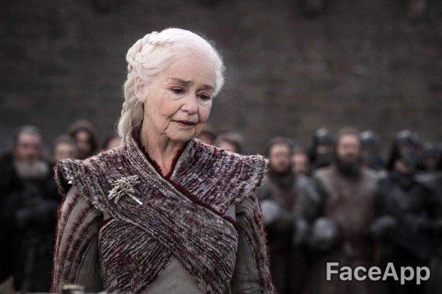 FaceApp и «Игра престолов»: приложение показало, как главные герои будут выглядеть в старости (1)