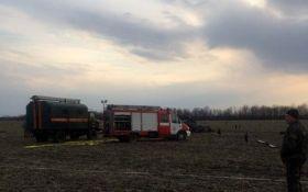 Крушение военного вертолета на Донбассе: появились данные по погибшим и фото