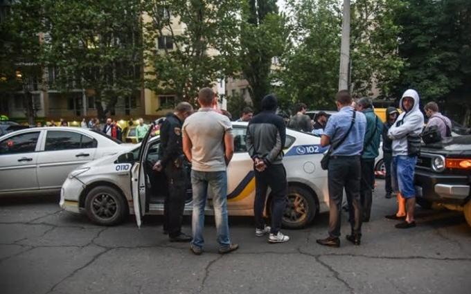 В Одесі за поліцейськими влаштували погоню зі стріляниною: опубліковані фото та відео