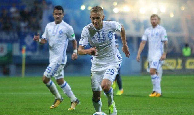 «Динамо» победило «Олимпик» ивышло влидеры чемпионата государства Украины