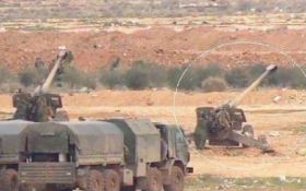 Россия отправила артиллерию в Сирию - Fox News
