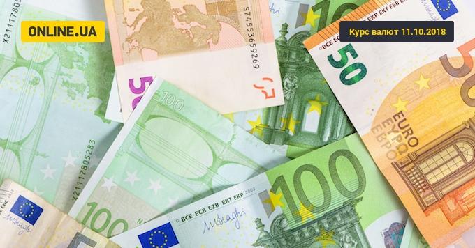 Курс валют на сьогодні 11 жовтня: долар подешевшав, евро подорожчав