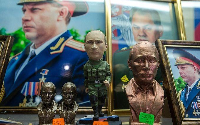 """Російський блогер викликав гнів фотографіями """"мирного"""" Донецька"""