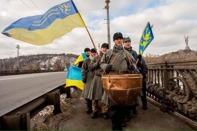 День соборности в Киеве: появились яркие фото (5)