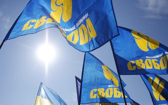 """ВО """"Свобода"""" блокирует российские фуры в четырех областях"""