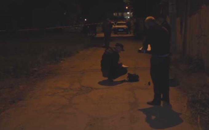 Під Одесою в поліцію кинули гранату: з'явилися фото і відео (1)