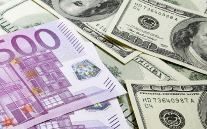 Курсы валют в Украине на пятницу, 25 мая